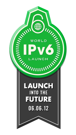 World IPv6 Launch banner